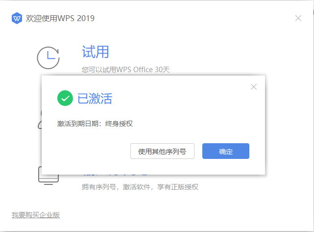 WPS Office Pro Plus 2019 v11.8.2.8621 中文专业增强注册版附Key
