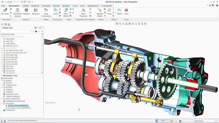 PTC Creo 6.0.4.0 x64 Multilingual 多语言中文注册版-2D&3D设计软件