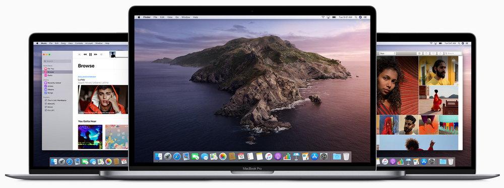 macOS Catalina 10.15 正式版发布-它将取消对Mac上所有32位应用和游戏支持