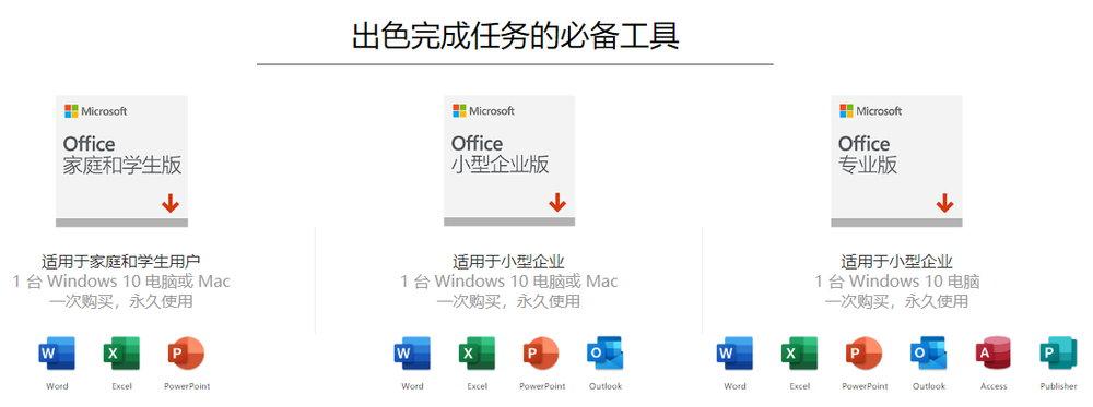 微软官方正版特价!Office 2019专业增强版-仅需 458 元!