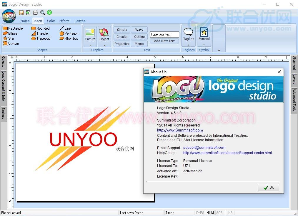 Logo Design Studio Pro 4.5.1.0 注册版 - 全功能Logo设计