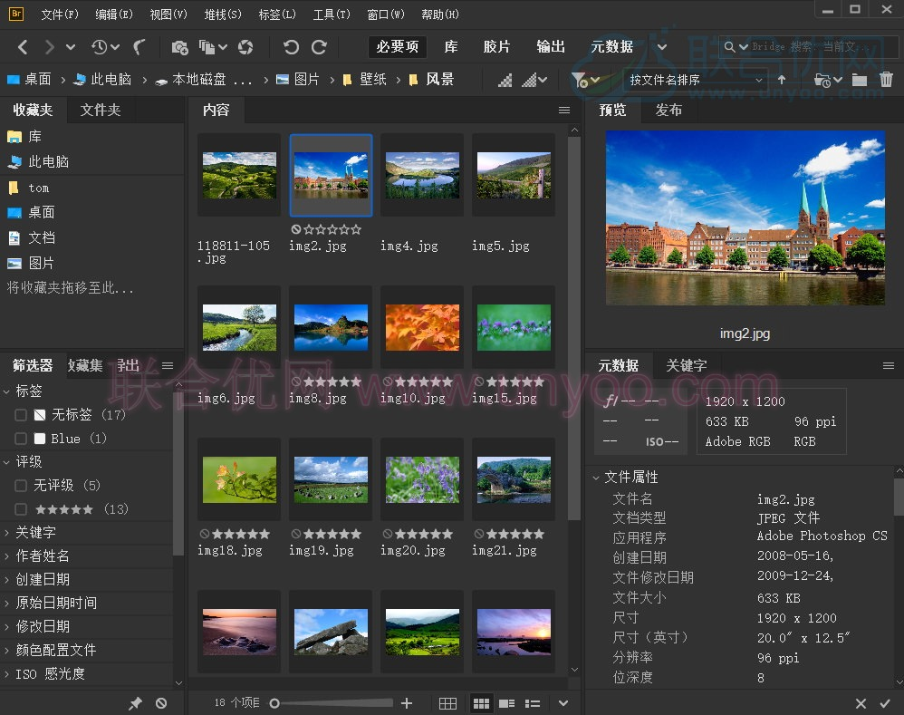Adobe Bridge 2020 v10.0.0.124 多语言中文正式版