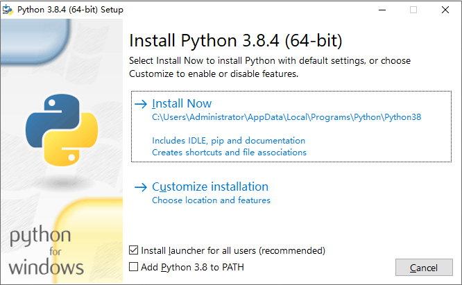 Python v3.8.4 final 稳定正式版发布附下载