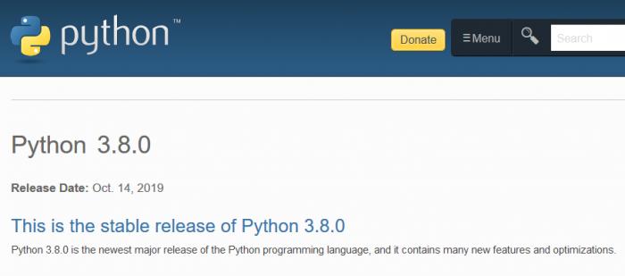 Python 3.8 已发布 现在是切换至新版本的好时机吗?