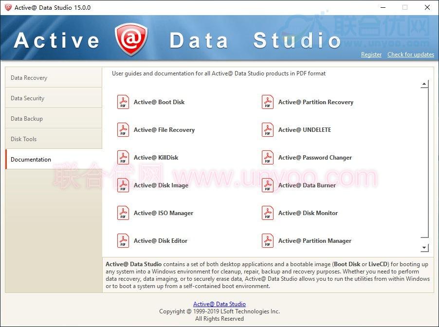 Active@ Data Studio 15.0.0+WinPE 正式注册版-磁盘管理工具