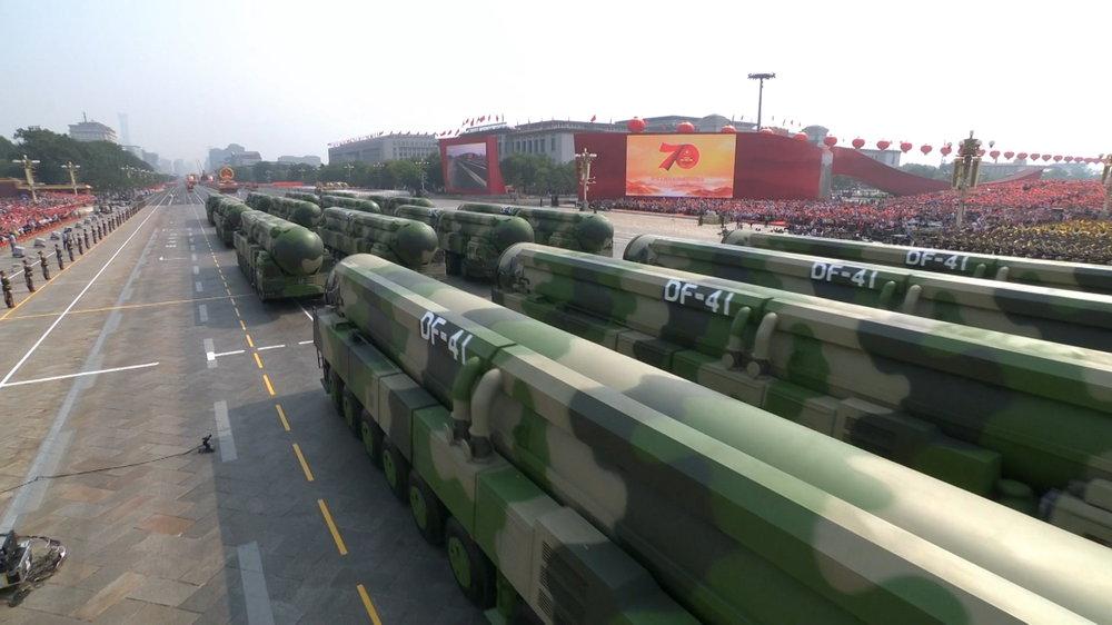 庆祝中华人民共和国成立70周年大会、阅兵式、群众游行HD无台标版