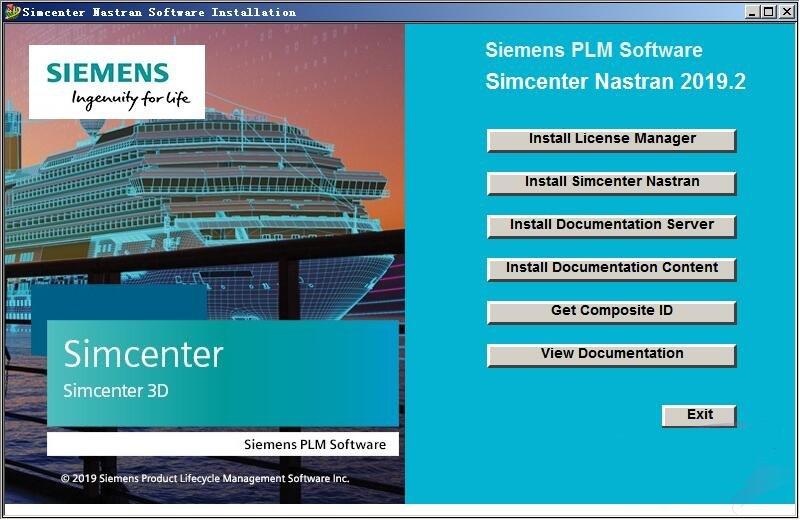 Siemens Simcenter Nastran 2020.1-1899 多语言中文注册版