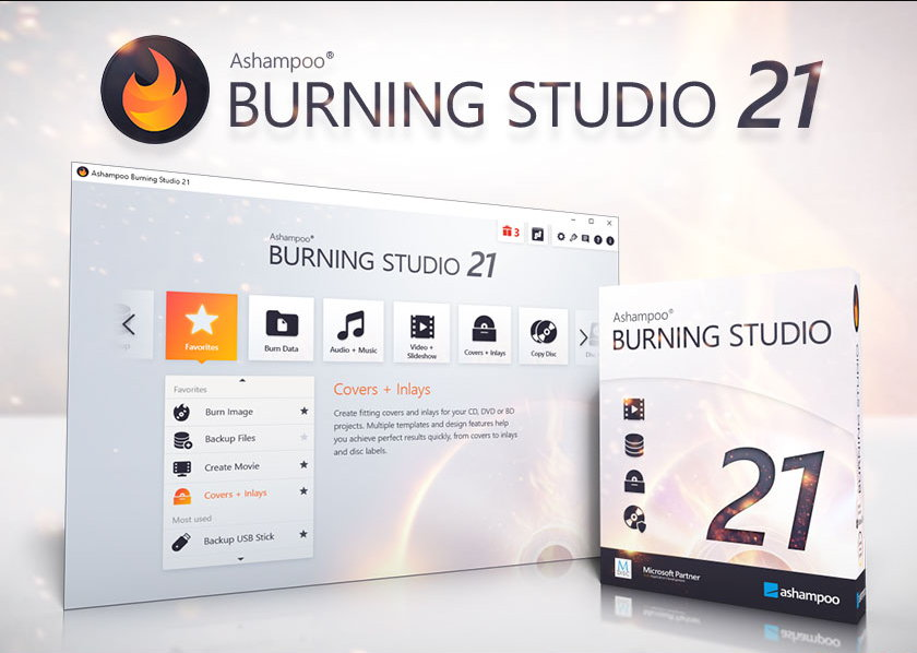 Ashampoo Burning Studio v21.5.0.57 多语言中文注册版