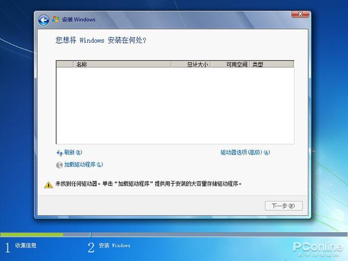 原生Windows 7无法识别新型NVMe固态硬盘