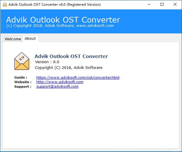 Advik Outlook OST Converter v6.0 多语言注册版-OST文件转换工具