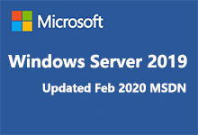 Windows Server 2019 Updated Feb 2020 MSDN正式版ISO镜像-简体中文/繁体中文/英文版-联合优网