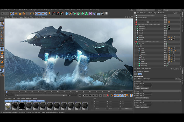 Maxon Cinema 4D Studio S22.118 Win 中英文注册版