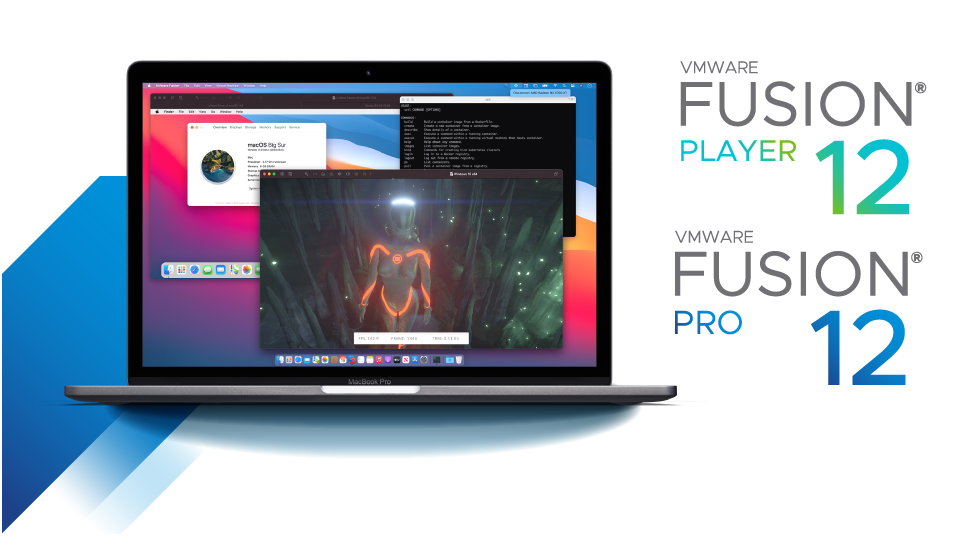VMware Fusion Pro v12.1.2 Build 17964953 多语言中文注册版