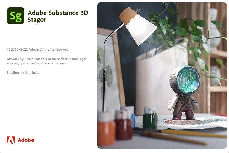 Adobe Substance 3D Stager v1.0.0 正式注册版-3D 设计软件
